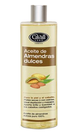 Aceite de Almendras Dulces puro 100% Cavall Verd 200 ml