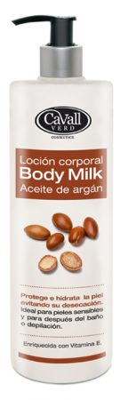Body Milk Aceite de Argan Cavall 200 ml