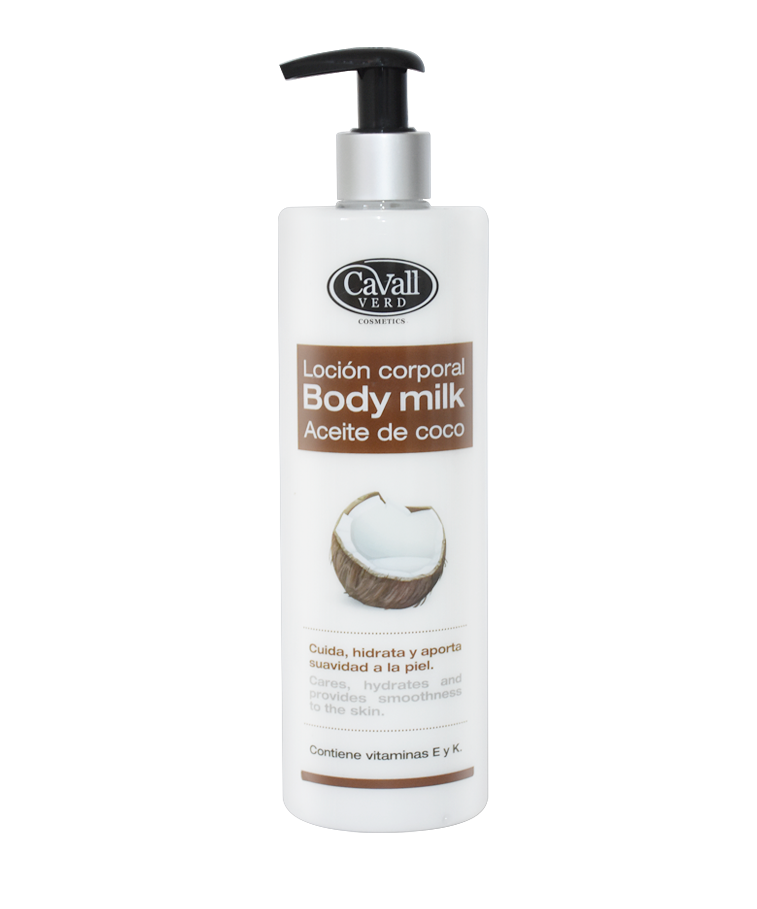 Body Milk Aceite de Coco Cavall Verd 500 ml
