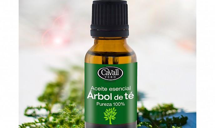 Aceite natural árbol de té