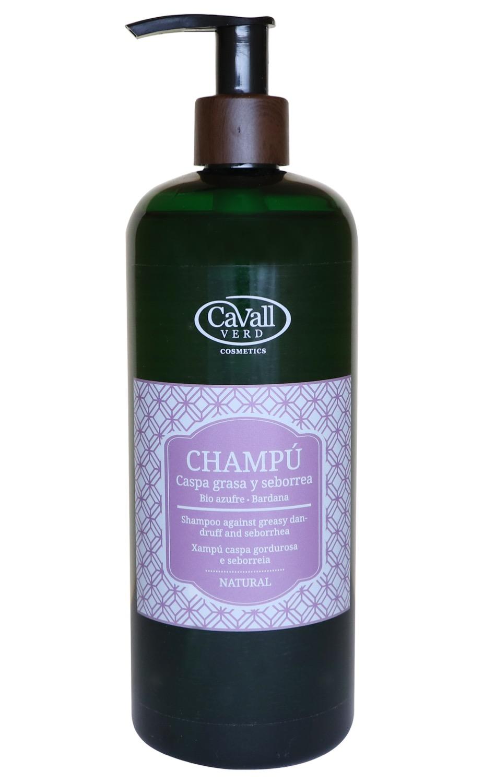 Champú Caspa Grasa y Seborrea Cavall Verd 500 ml
