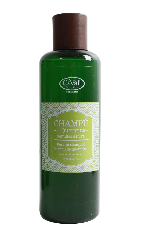 Champú de Queratina Cavall Verd. 200 ml