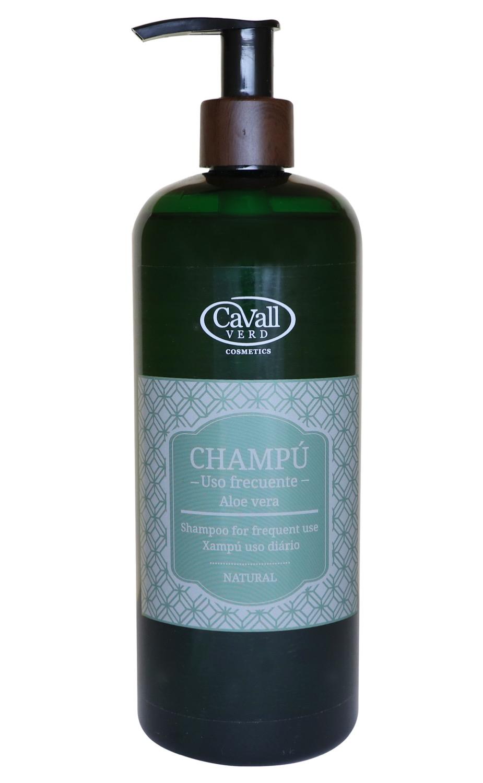 Champú Aloe Vera uso Frecuente Cavall Verd 500 ml