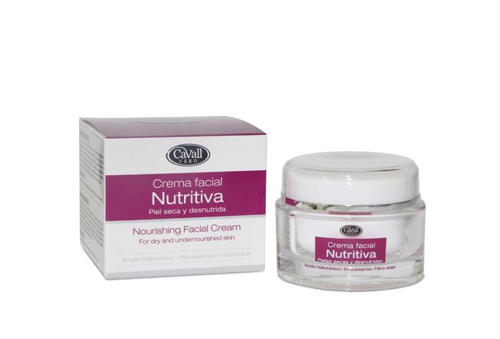 Crema Facial Nutritiva Acido Hialuronico Cavall Verd 50 ml