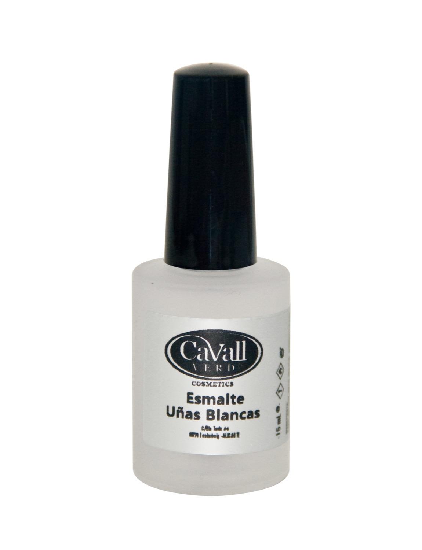 Esmalte uñas blancas Cavall Verd de 15 ml.