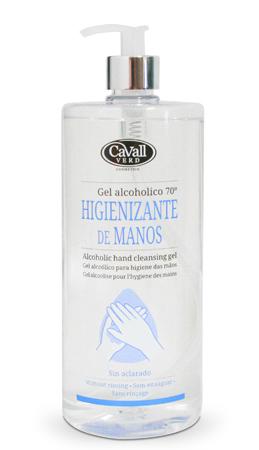 Gel alcohólico higienizante de manos Cavall Verd 1000 ml
