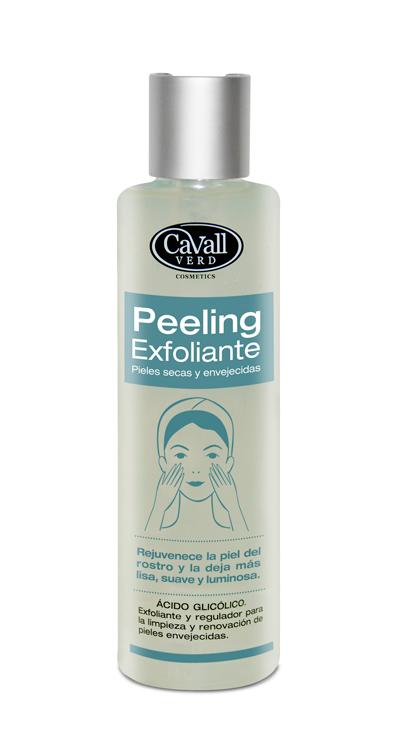 Peeling Exfoliante Facial Acido Glicolico Cavall Verd 200 ml