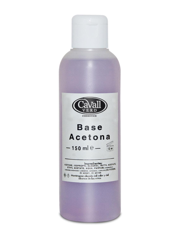 Quita esmalte base acetona 150 ml.